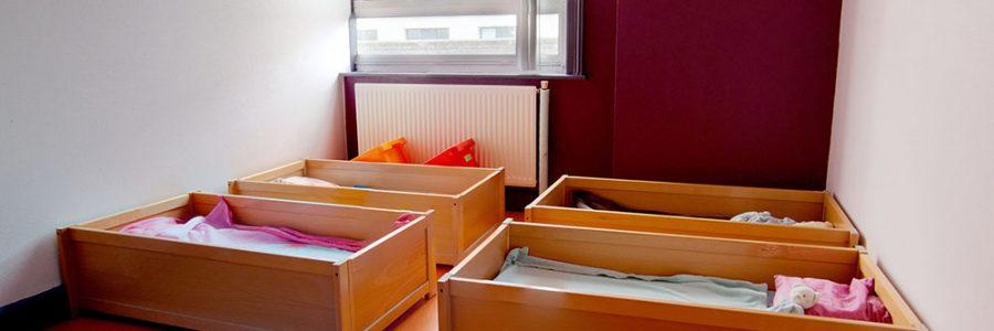dortoirs à la crèche le temps d'un rêve à Arras