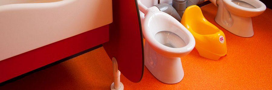 toilettes à la crèche le temps d'un rêve à Arras
